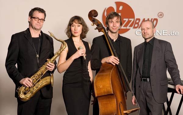 Live Jazzband Saxophon Quartett
