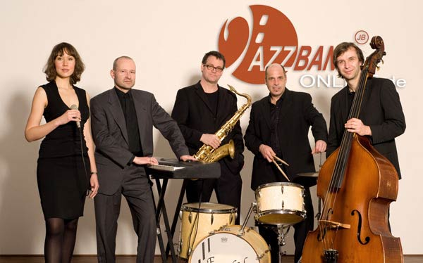 Jazzband Live Quintett Sängerin