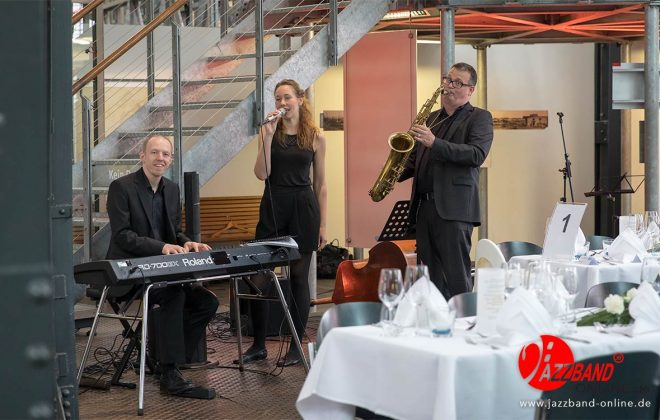 Jazzband aus Münster spielt live in Oberhausen