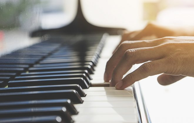 Jazzband mit Piano